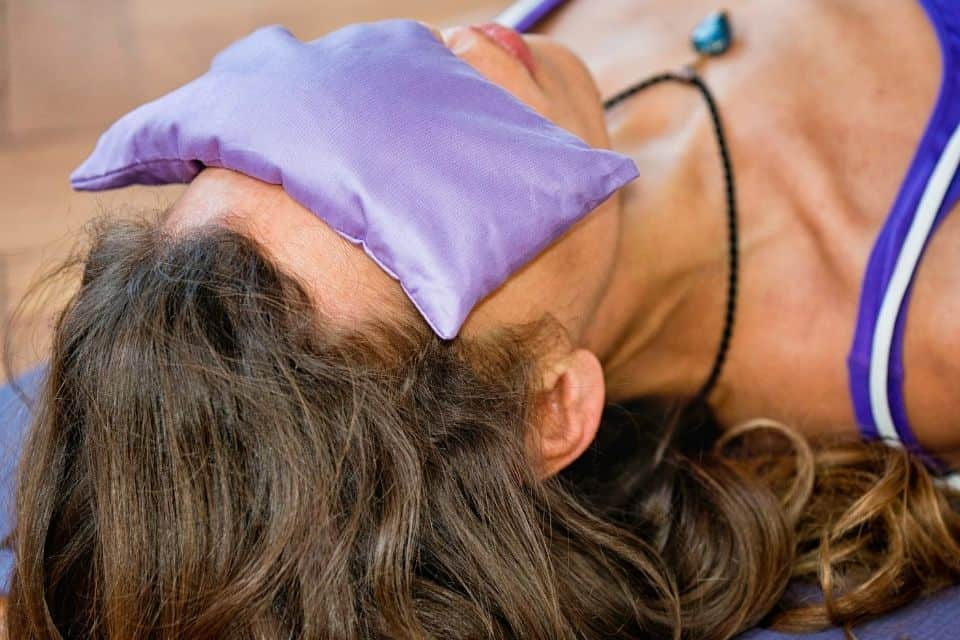 This Is What Eye Pillows Are Used for In Yoga